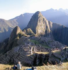 Sonnenaufgang: ... Machu Picchu