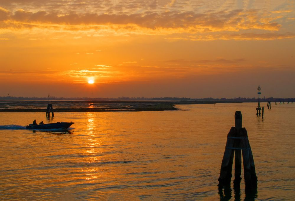 Sonnenaufgang Murano