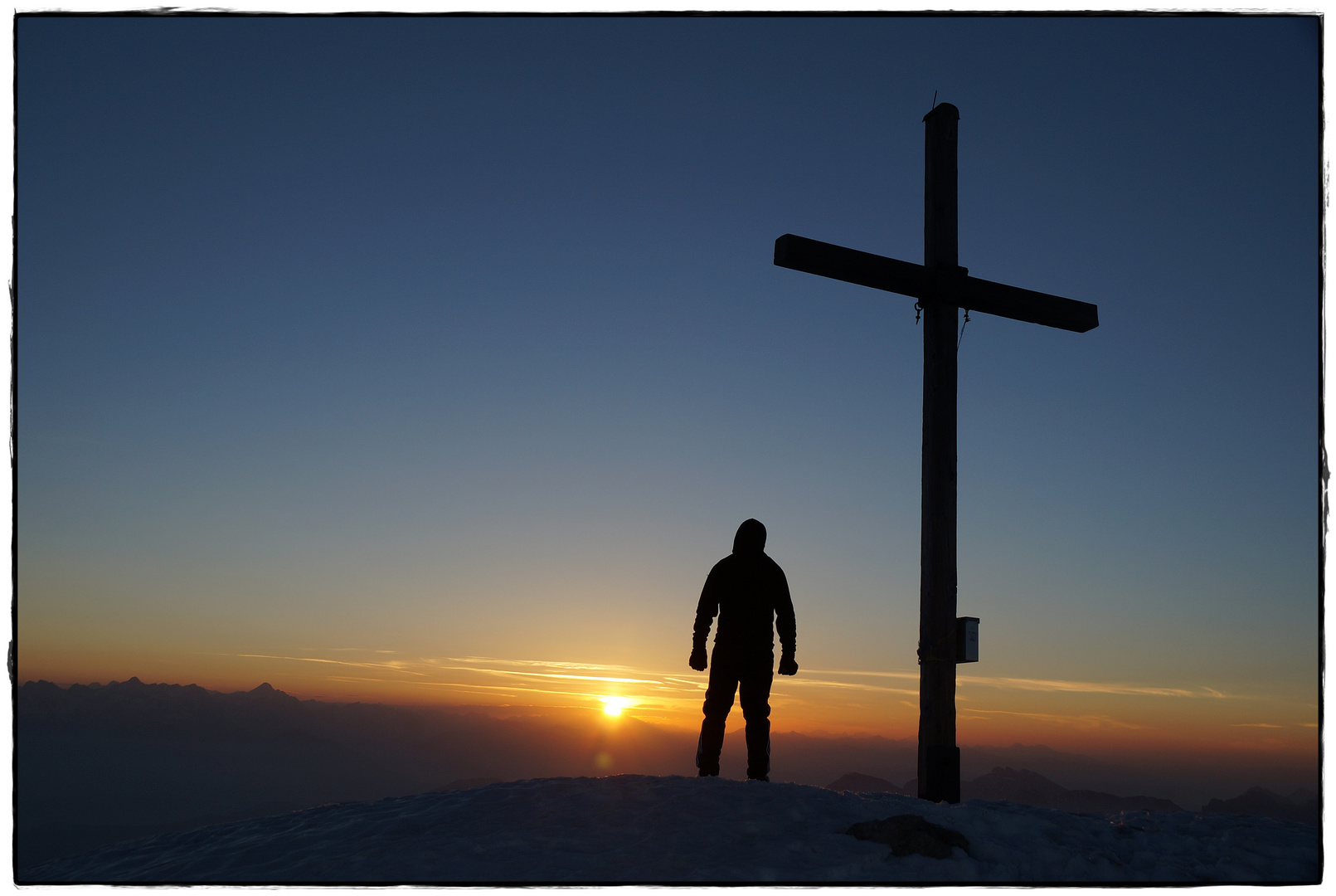 Sonnenaufgang Peitlerkofel (2875 m)