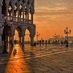 Sonnenaufgang Piazza San Marco