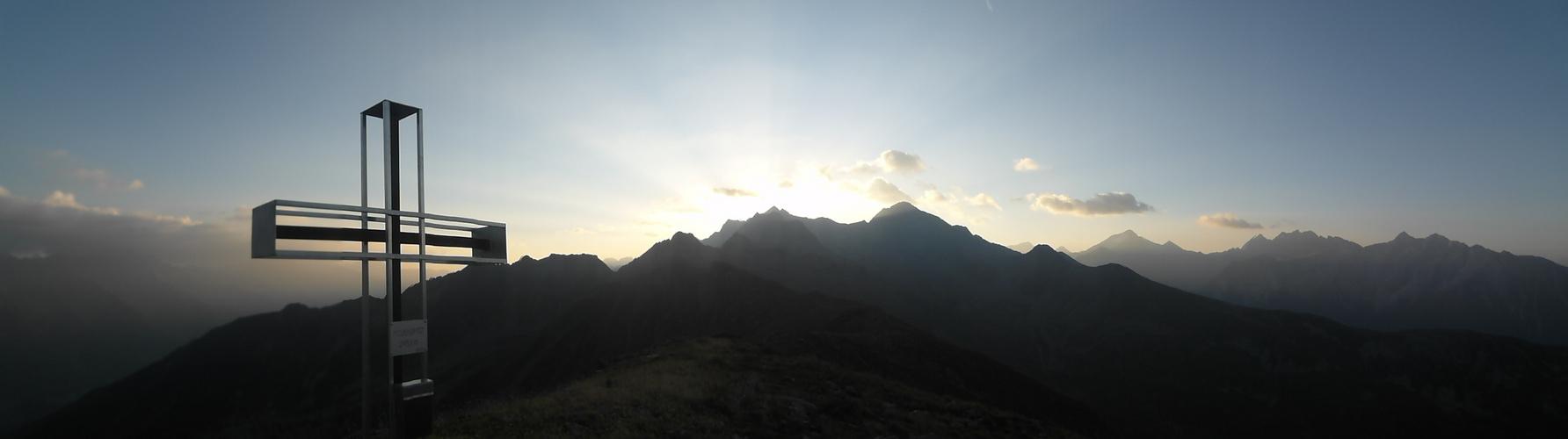 sonnenaufgang Pojenspitz 2.453 m