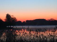 Sonnenaufgang Rothsee