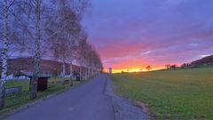 Sonnenaufgang (salida del sol)
