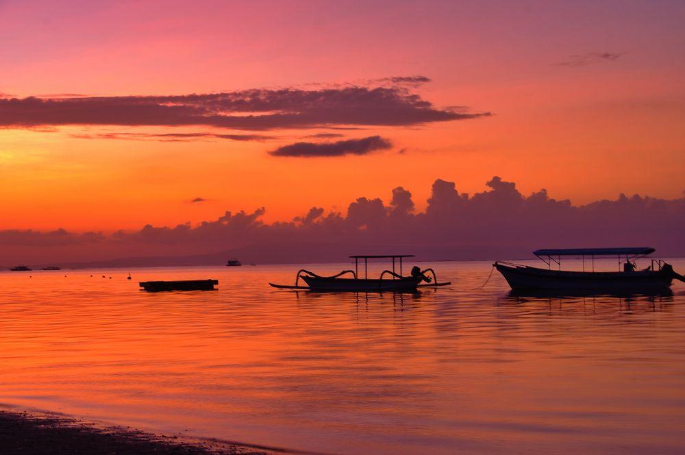 Sonnenaufgang Sanur, Bali