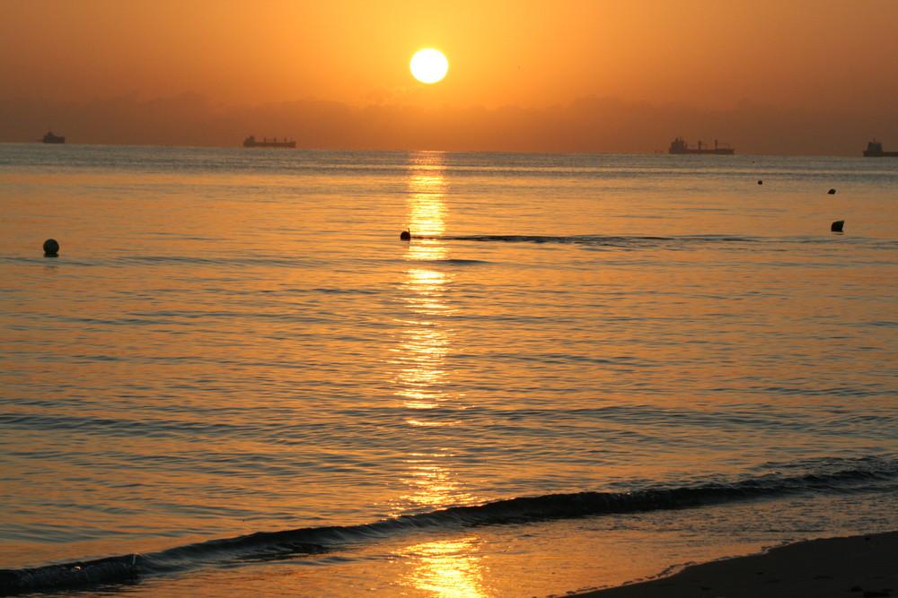 Sonnenaufgang Tunesien