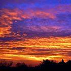 Sonnenaufgang über Bielefeld - überarbeitet