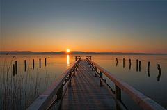 Sonnenaufgang über dem Ratzeburger See