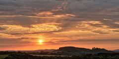 Sonnenaufgang über der Siersburg