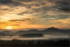 ~ Sonnenaufgang über der Wachsenburg ~