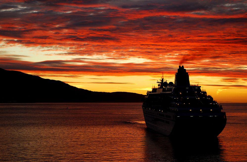 Sonnenaufgang über die Atlantis Riviera