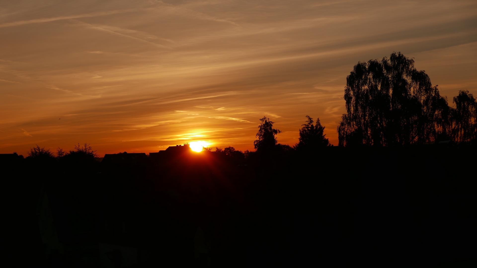 Sonnenaufgang über Fischlaken - 1