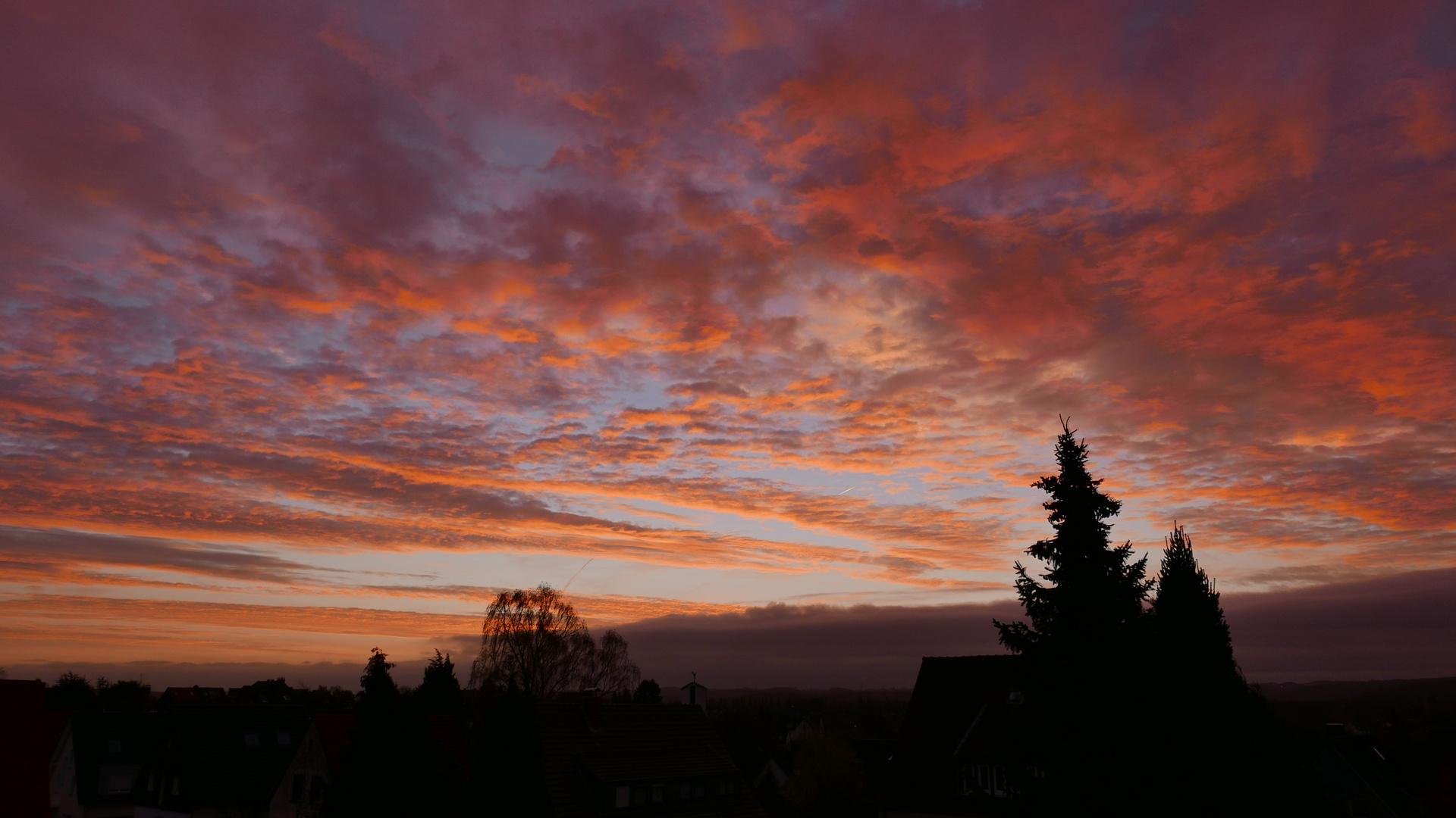 Sonnenaufgang über Fischlaken - 3