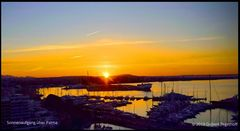 Sonnenaufgang über Palma de Mallorca