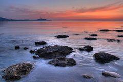 Sonnenaufgang über Rhodos