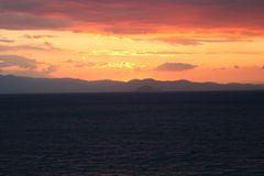 Sonnenaufgang über Sithonia 1