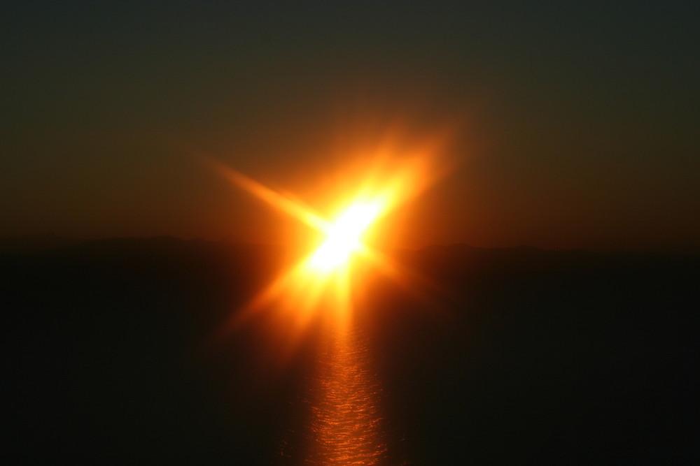 Sonnenaufgang über Sithonia 3