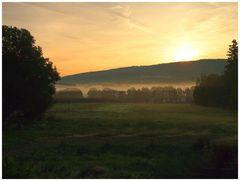 Sonnenaufgang überm Waldstein