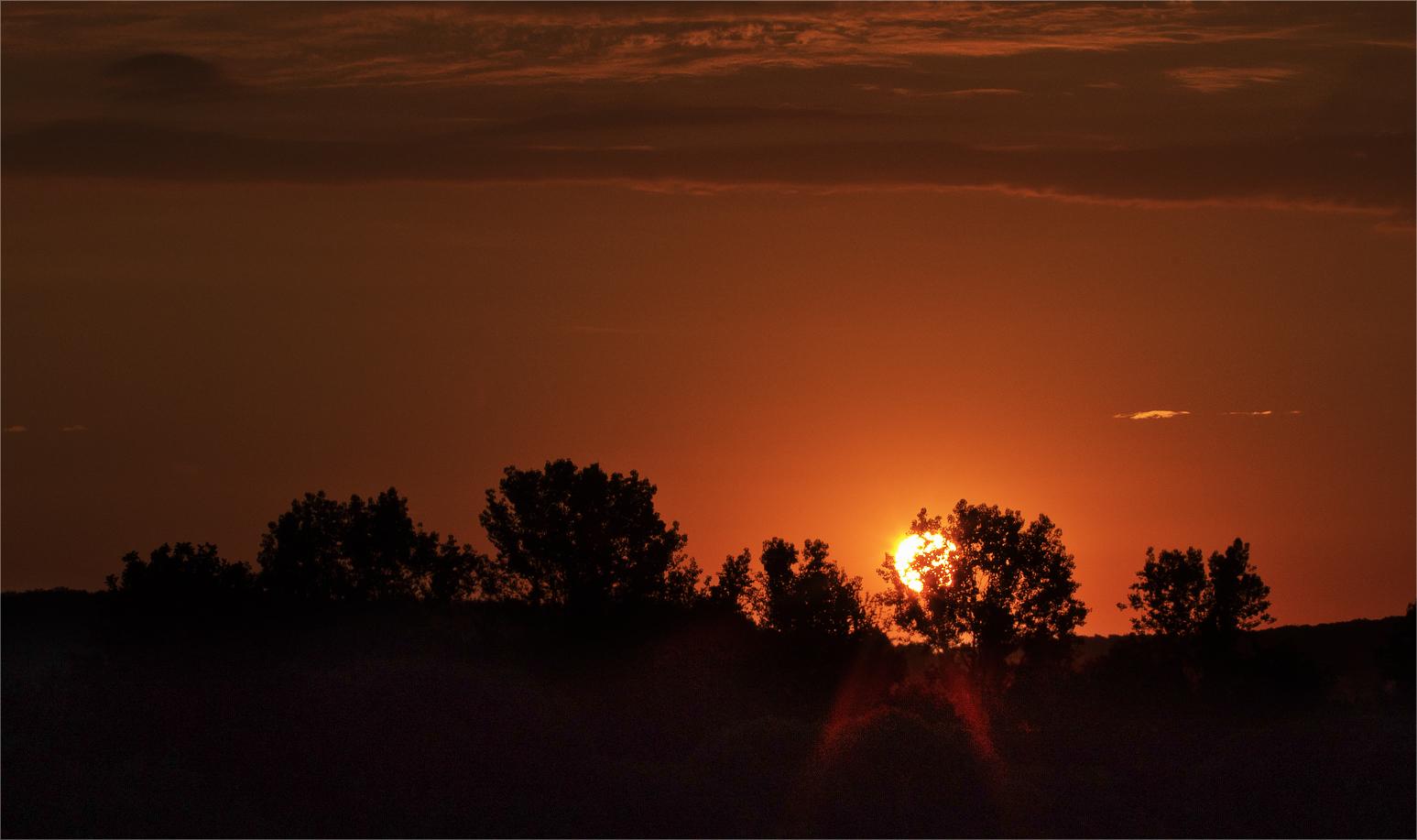 Sonnenaufgang um 5 Uhr