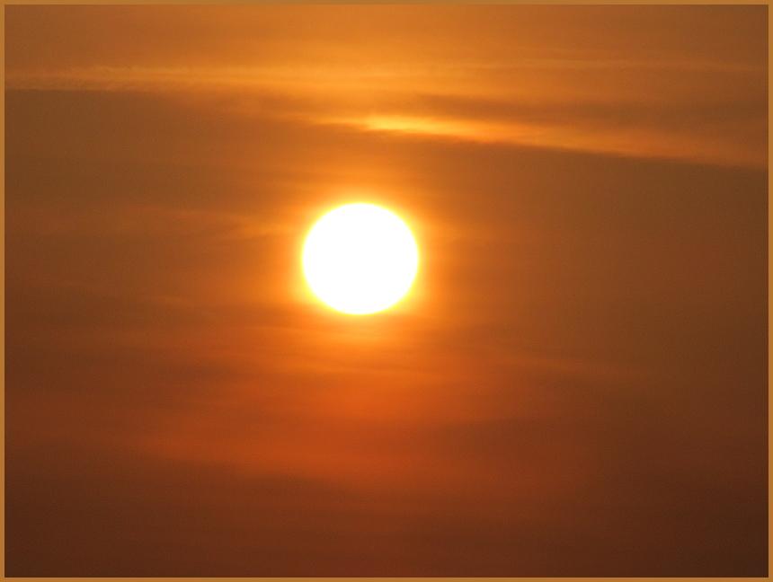Sonnenaufgang um 6.45