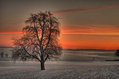 Sonnenaufgang um acht