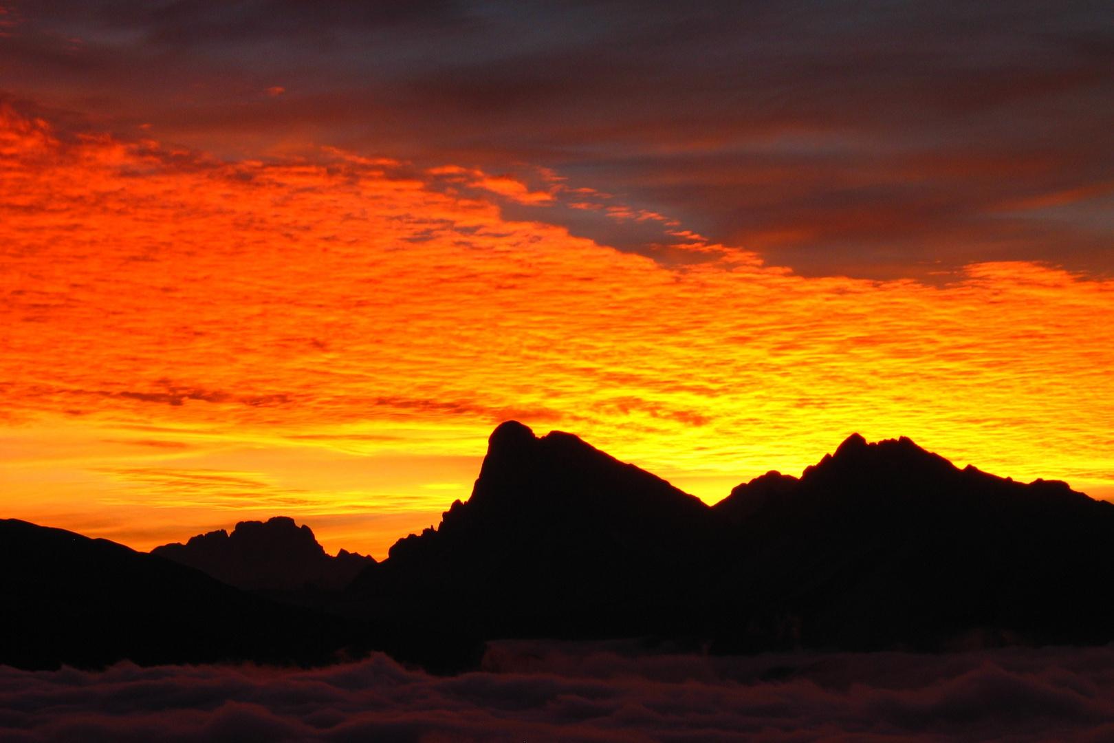 Sonnenaufgang um halb sechs