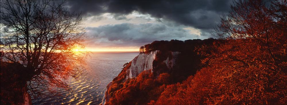 Sonnenaufgang vom Königstuhl ...