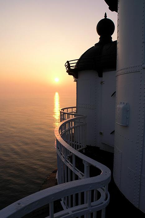 """Sonnenaufgang vom """"Roten-Sand"""" aus gesehen"""