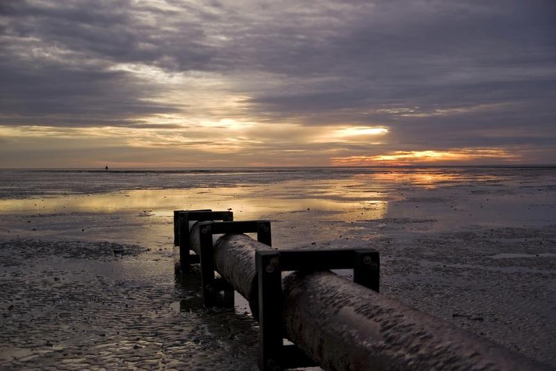 Sonnenaufgang vor Horumersiel # 3