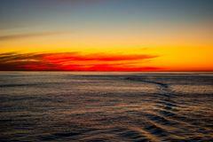 Sonnenaufgang vor Neufundland