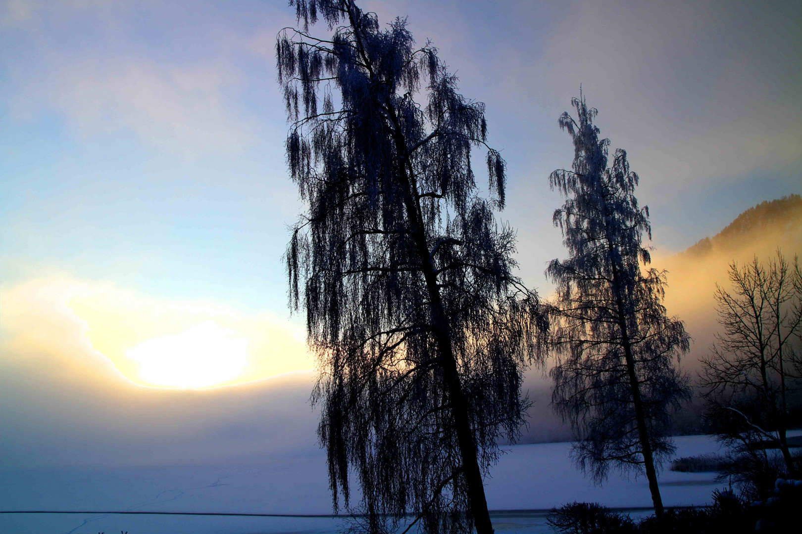 Sonnenaufgang Weissensee