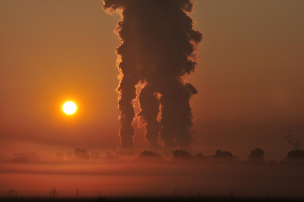 Sonnenaufgang wie in einer anderen Welt