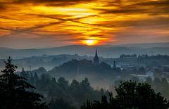 Sonnenaufgangsstimmung in Königsee