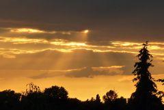 Sonnendurchbruch nach Gewitter