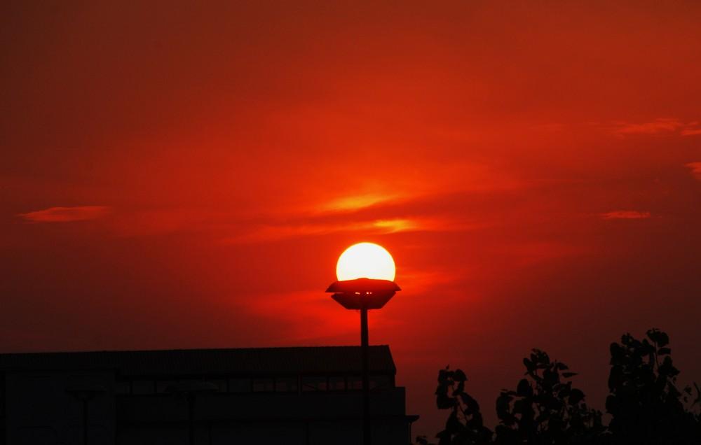 Sonnenenergielampe