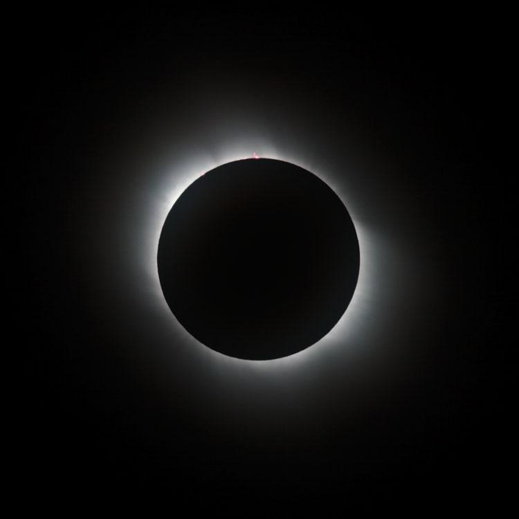 Sonnenfinsternis 2006 - Totalität 2