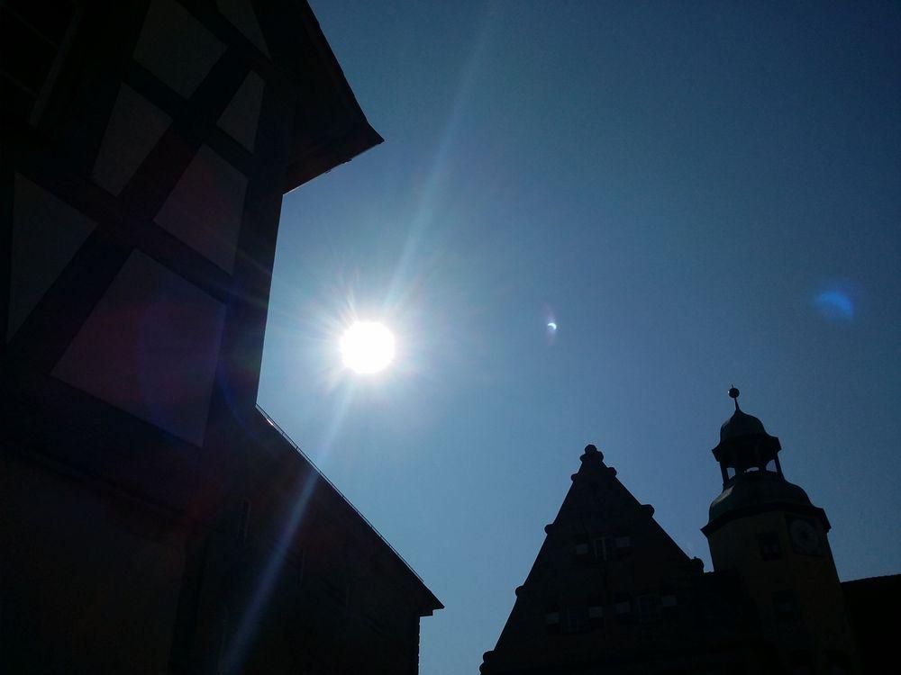 Sonnenfinsternis mal ganz anders