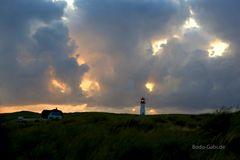 Sonnenloch am Leuchtturm List West