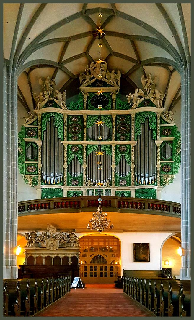 Sonnenorgel in St. Peter+Paul Kirche in Görlitz