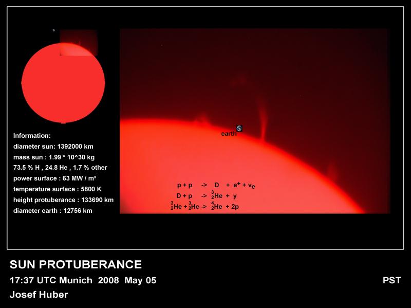 Sonnenprotuberanz