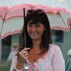 """"""" Sonnenschein mit Regenschirm """""""