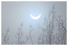 Sonnensichel - keine Mondfinsternis...