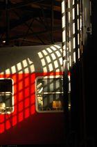 Sonnenspiel am Wagon - Technisches Museum Berlin