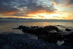 Sonnenspiel über Hiddensee