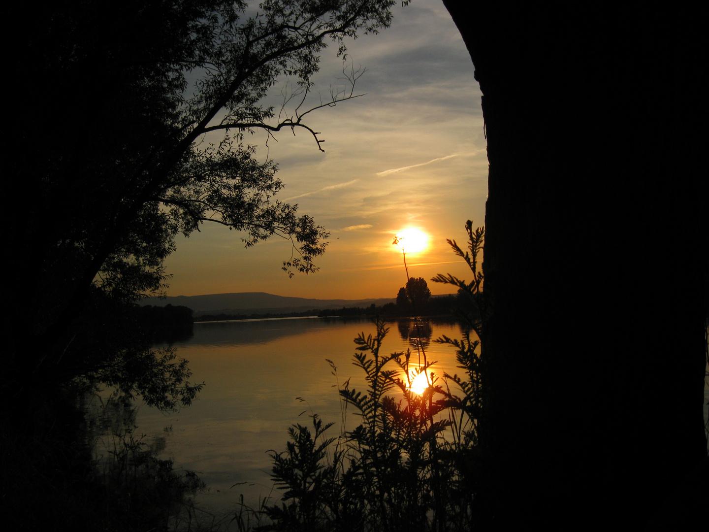 Sonnenstrahlen am See