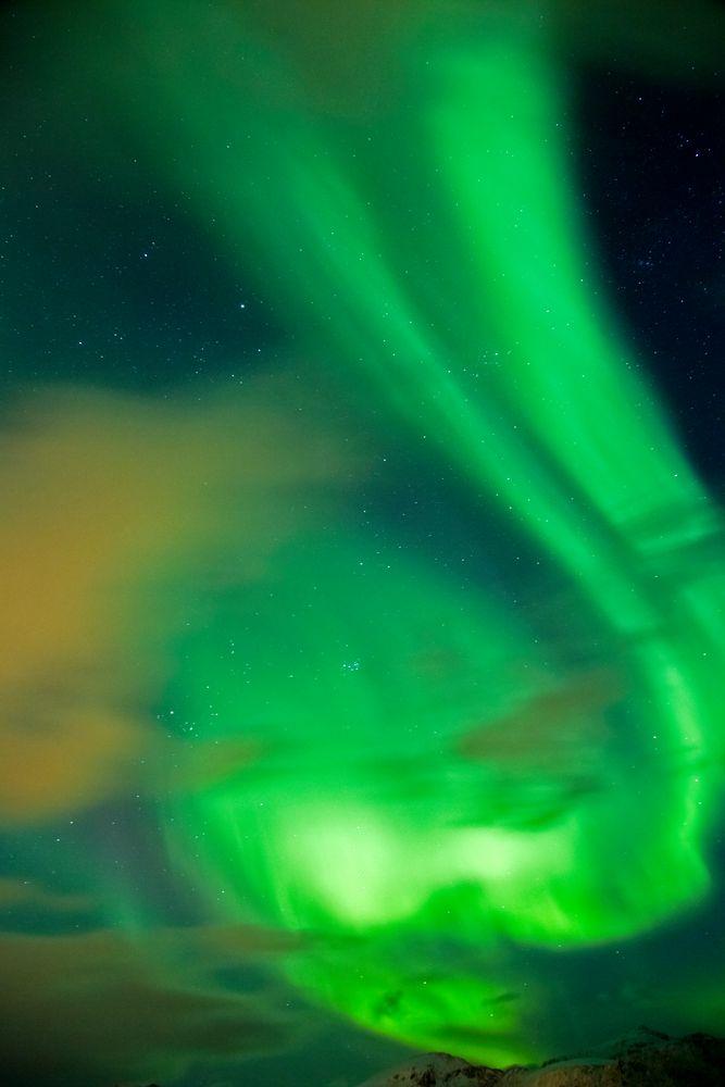 Sonnensturm über den Lofoten