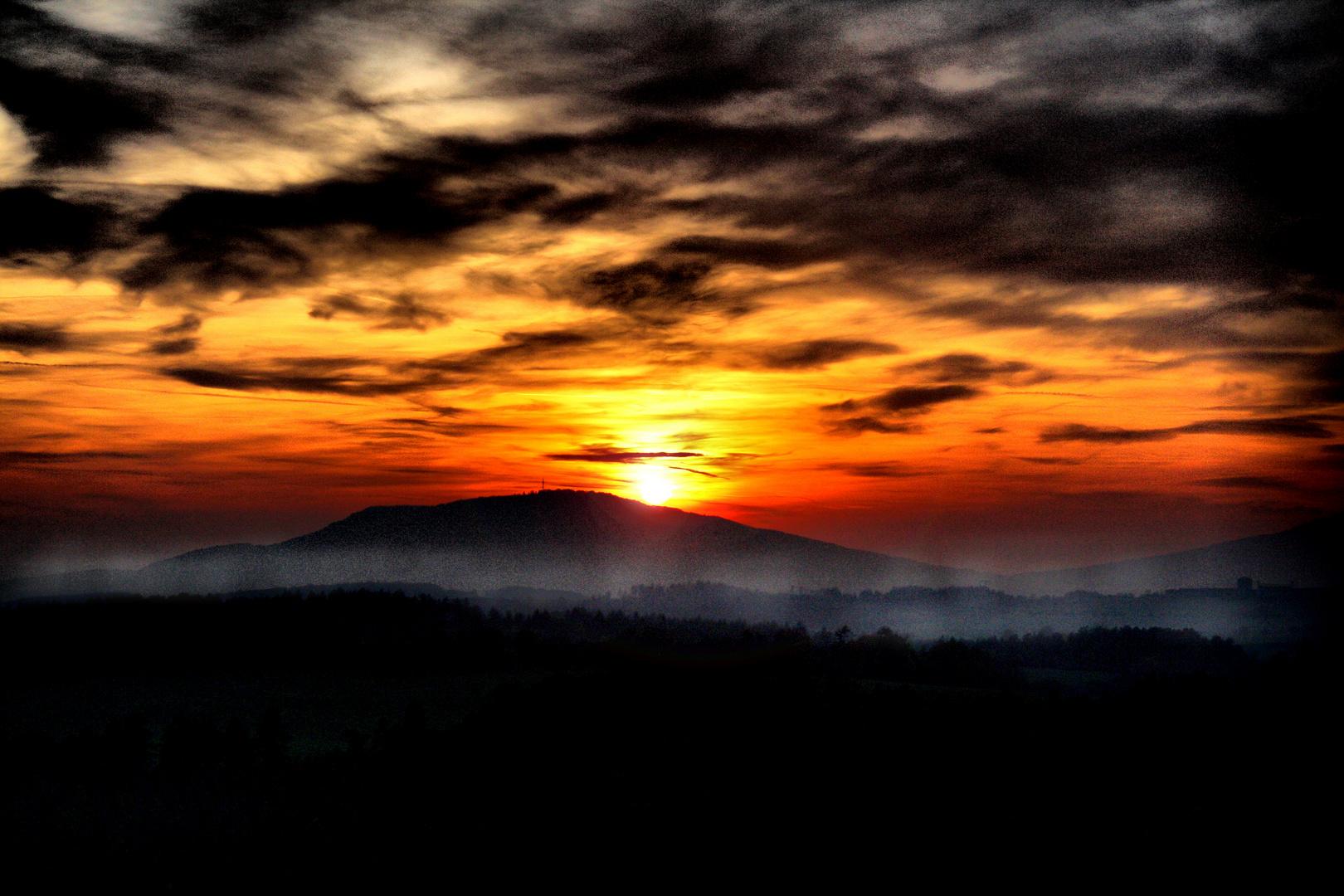 Sonnenundergang