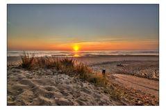Sonnenungtergang am Atlantik