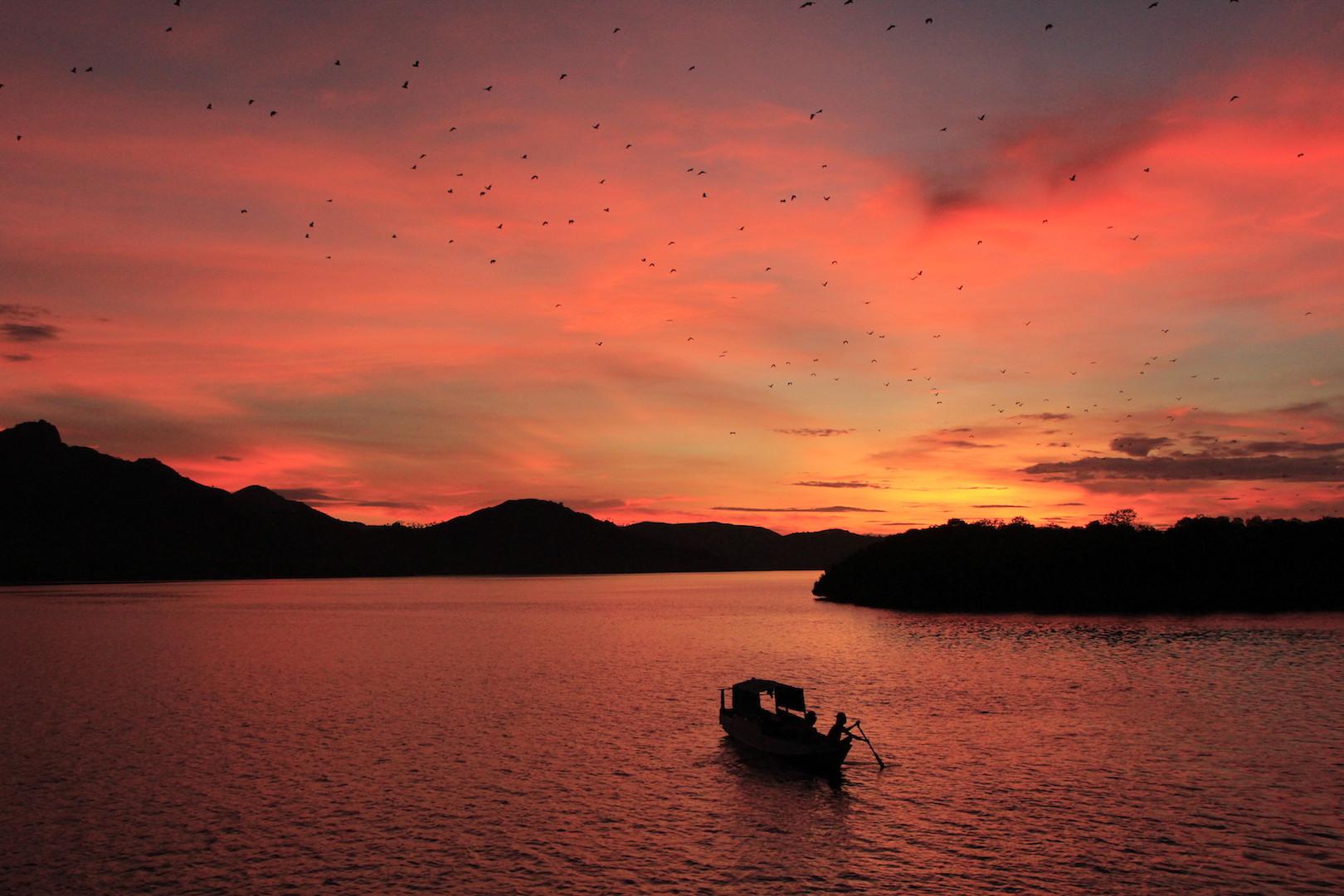 Sonnenuntergaenge in Komodo - Indonesia