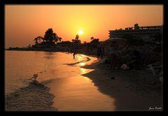 Sonnenuntergan - ein weiterer auf Zypern