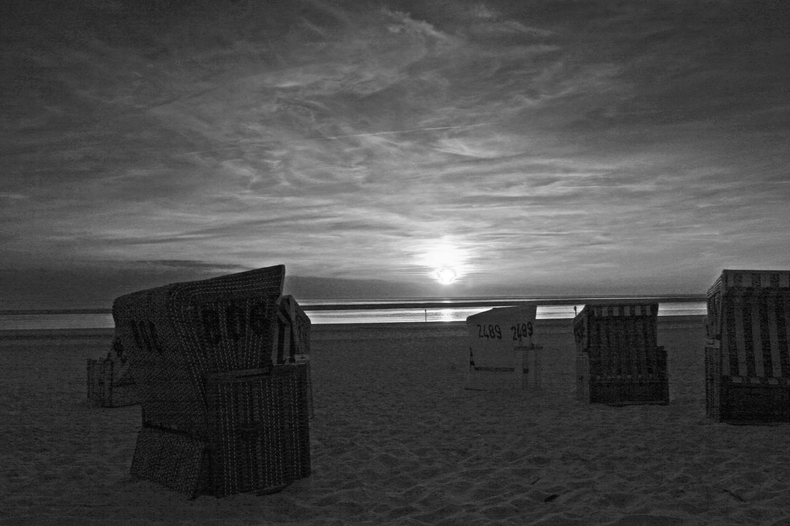 Sonnenuntergang 02 sw